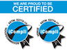 We Are Proud To Be Certified