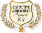 2012 Distinctive Achievement Award