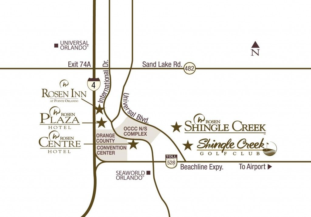 Shingle Creek Location and Transportation | Orlando Meeting ...