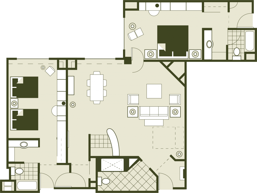 Executive Floor Plan