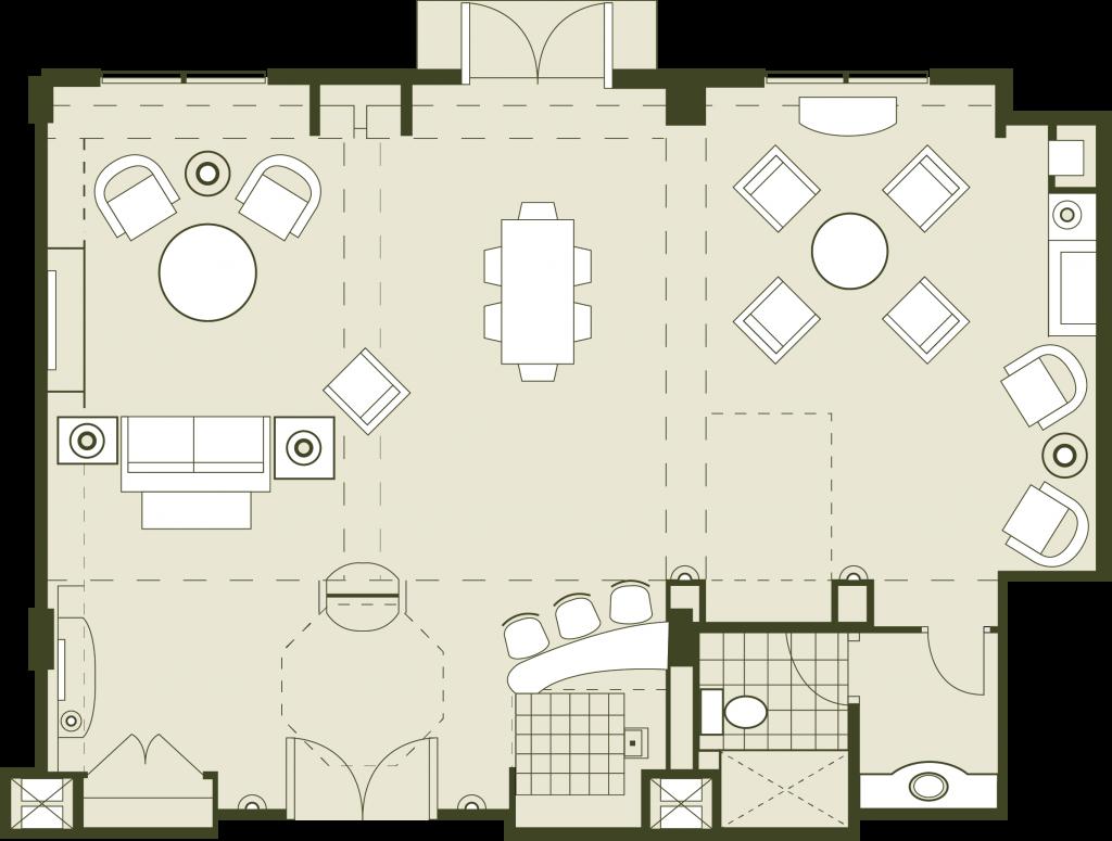 Hospitality Floor Plan