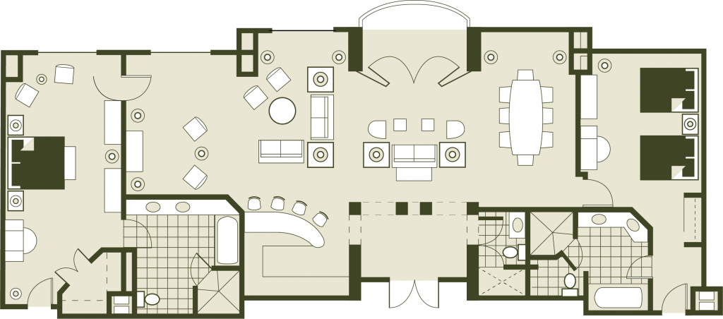 Presidential Floor Plans