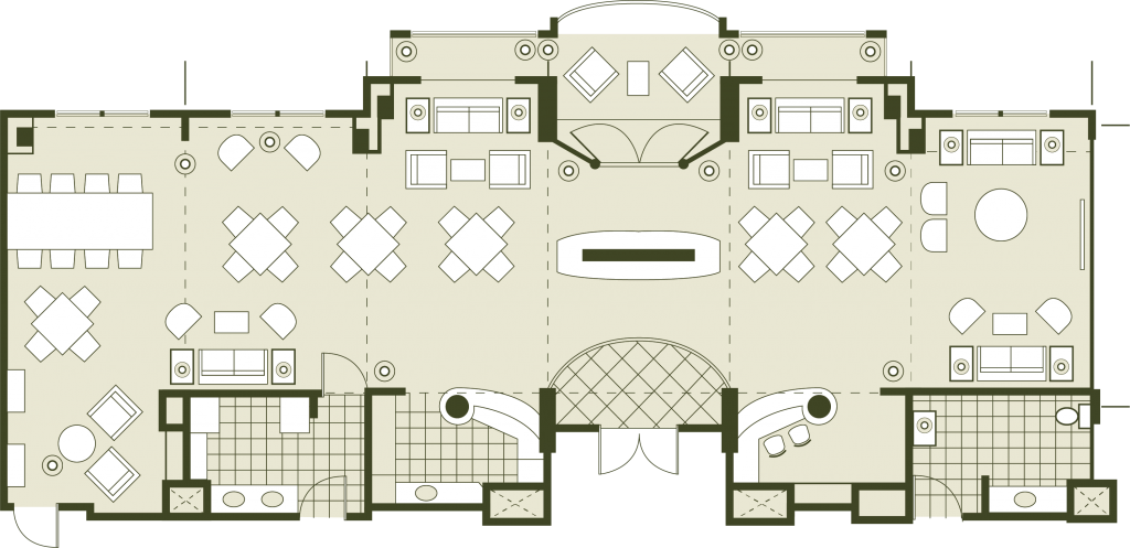 VIP Accomodation Floor Plan