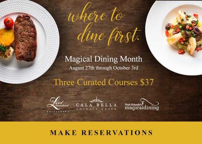 Rosen Shingle Creek Magical Dining Month | Orlando, Florida
