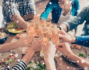 New Years Eve Buffet at Café Osceola
