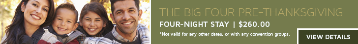 Rosen Shingle Creek® Thanksgiving Stay Banner