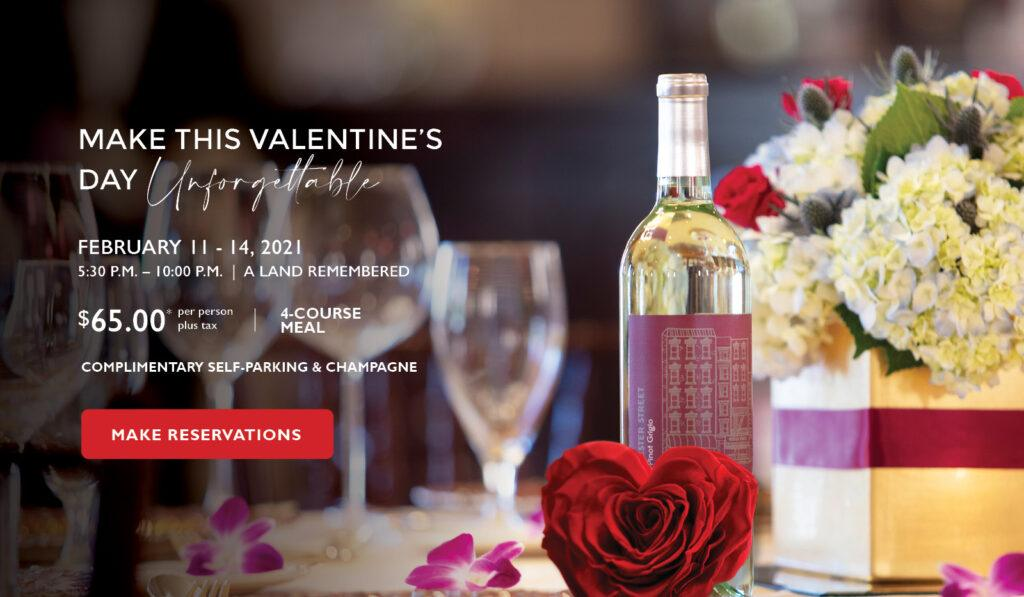 Rosen Shingle Creek Orlando Valentines Day at A Land Remembered Steak House