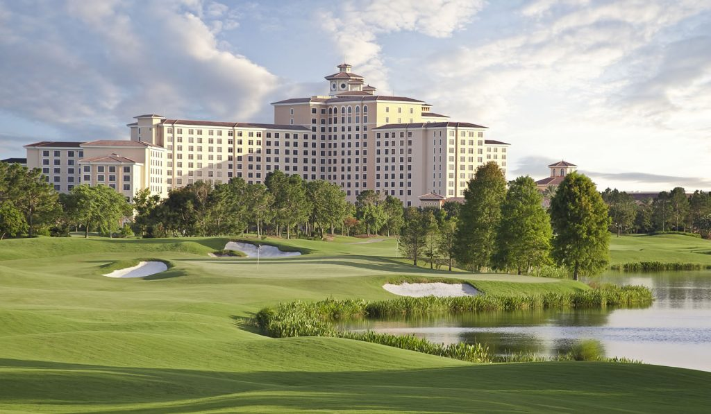 Rosen Shingle Creek® View from Golf Course