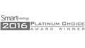 Smart Meetings Platinum Choice Award